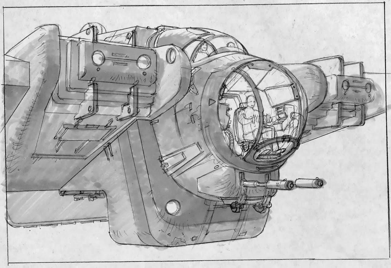 ghost ship rebels concept art