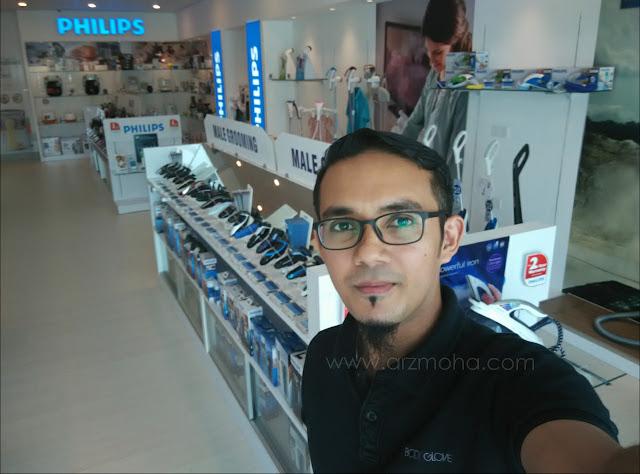 philips experience store penang, philips penang experience store, kedai barang elektrik philips bayan baru,