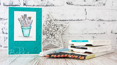 Colourful Crafting Forever Card  Buy this gorgeous Stamp Set from Stampin' Up! UK Here