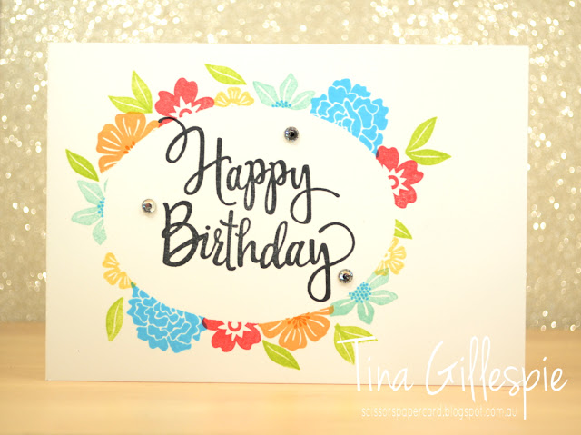 scissorspapercard, Stampin' Up!, Beautiful Bouquet, Bunch Of Blossoms, Bloomin' Love, Milestone Moments, Stylised Birthday