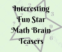 Interesting Fun Star Math Puzzle & Brain Teasers for Kids