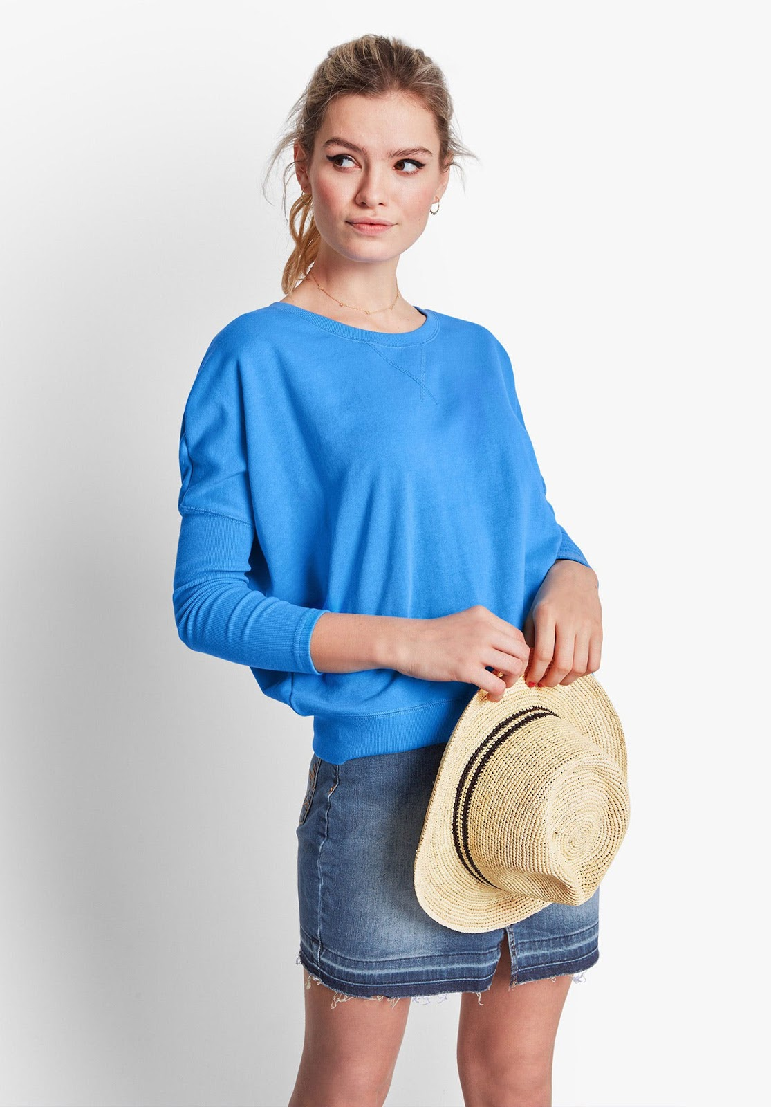 hush dolman sleeve sloppy joe
