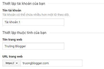 Cách đăng ký cài đặt Google Analytics cho Blogspot theo dõi thống kê chính xác nhất