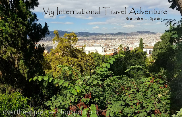 My International Travel Adventure, Barcelona, Spain- Over The Apple Tree