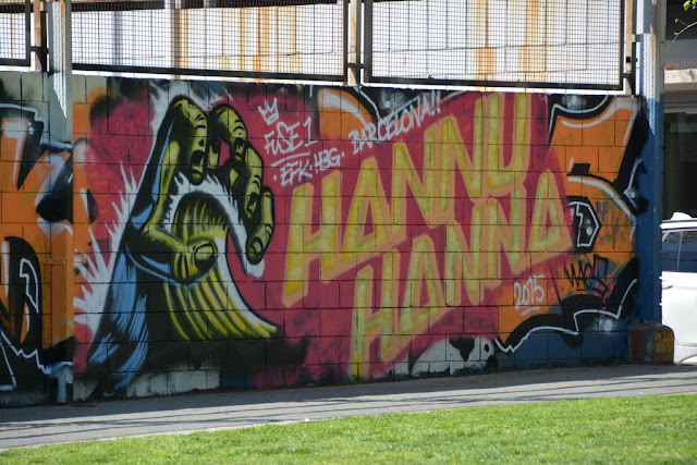 Barcelona Port Graffiti