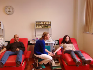 Η εθελοντική αιμοδοσία του Α.Π.Σ. Δρομέων Πιερίας ΖΕΥΣ