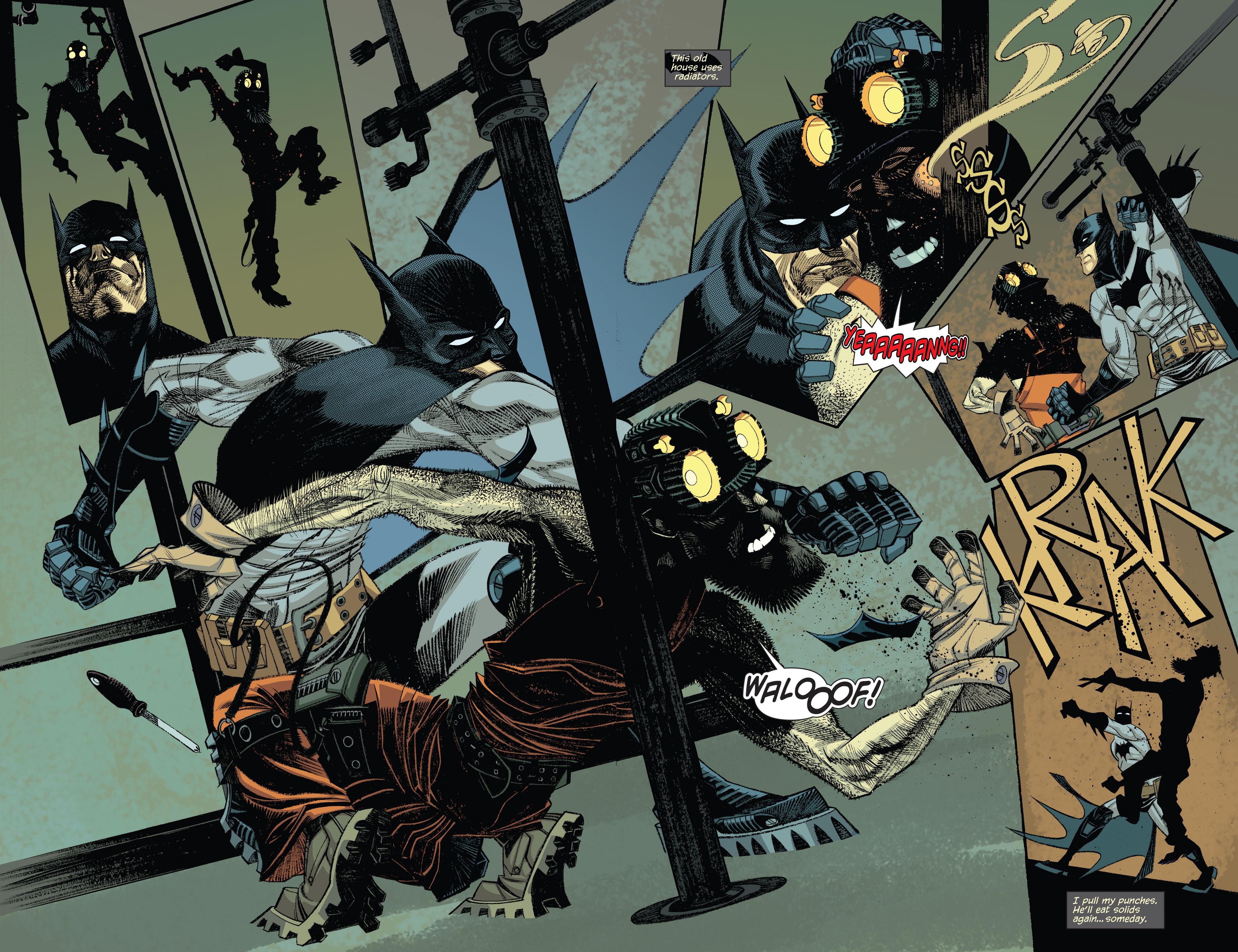 Read online Arkham Manor comic -  Issue #5 - 8