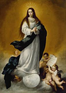 Inmaculada Concepción - Murillo - Oleo sobre lienzo 250x178,5 cm Walters Art Gallery Baltimore Maryland's Mount Vernon - USA