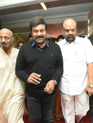 Chiranjeevi-at-Ministers-daughter-wedding