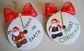 Enfeites para o natal com CDs 3