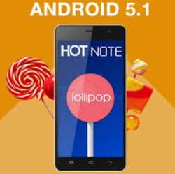 infinix hot note lollipop