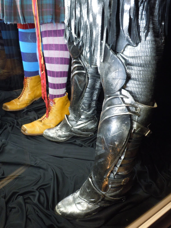 Alice in Wonderland White Knight armour boots
