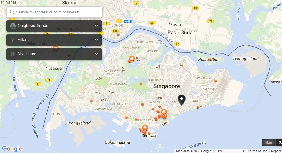 About Singapore City MRT Tourism Map And Holidays The Real - Tours map