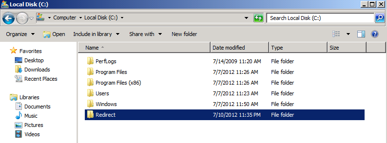 Terry L@u's blog: Configuring Folder Redirection