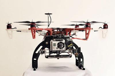 Saya memilih Drone Hexcopter sebagai wahana foto udara saya yang pertama