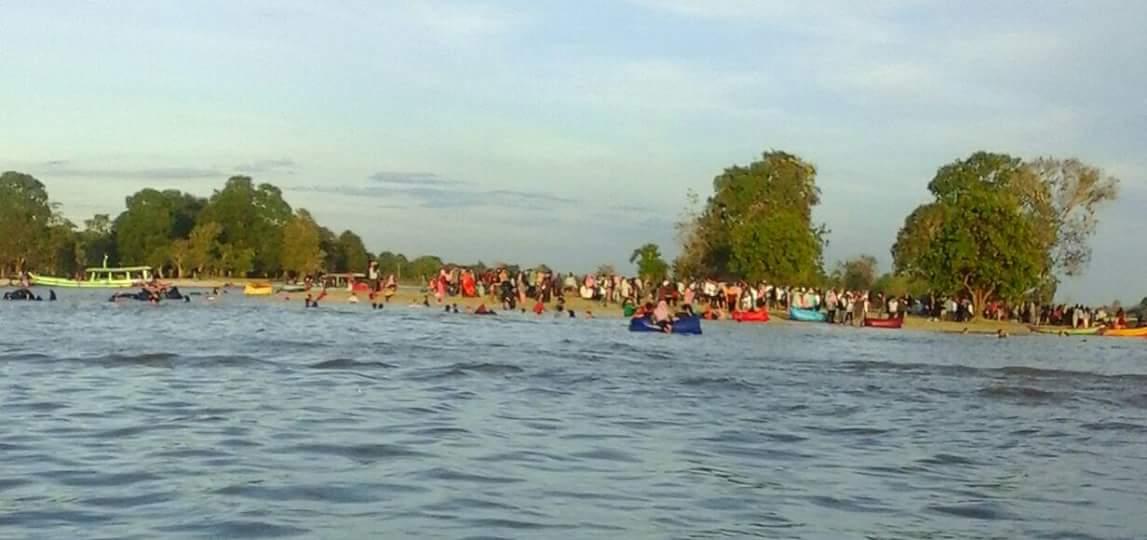 Jejak Si Koceng Menikmati Keindahan Danau Semayang Di Desa Pela Kota Bangun