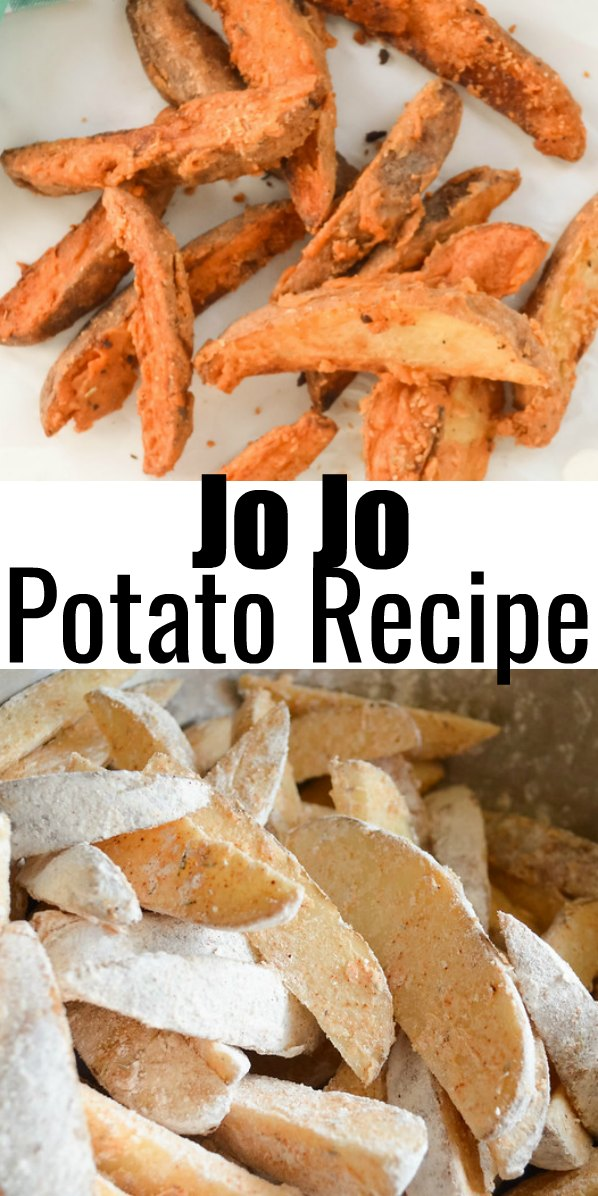 Jo Jo Potatoes are a family favorite! These Seasoned Potato Wedges are a favorite with burgers from Serena Bakes Simply From Scratch.