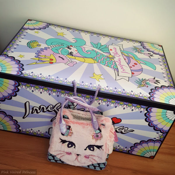 irregular choice mermaid storage chest size comparison