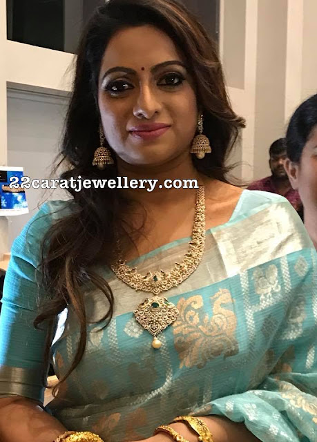 Udaya Bhanu in Moksha Diamonds