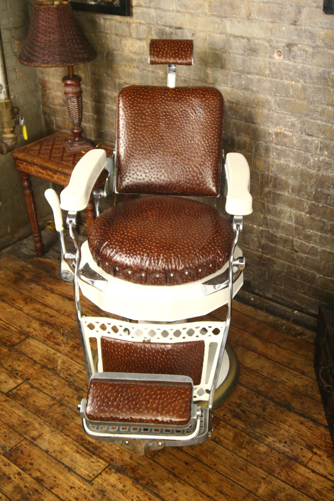 Keller Barber Chair Diy Covers Pillowcase Antique Chairs Furniture