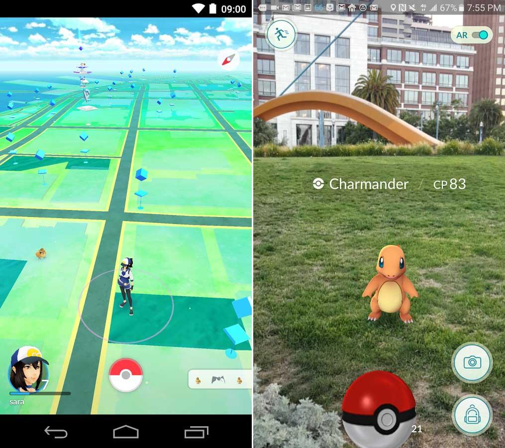 Pokemon GO скачать игру на Android — Pokemon GOGO