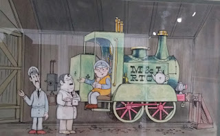 Drawing of Ivor the Engine.