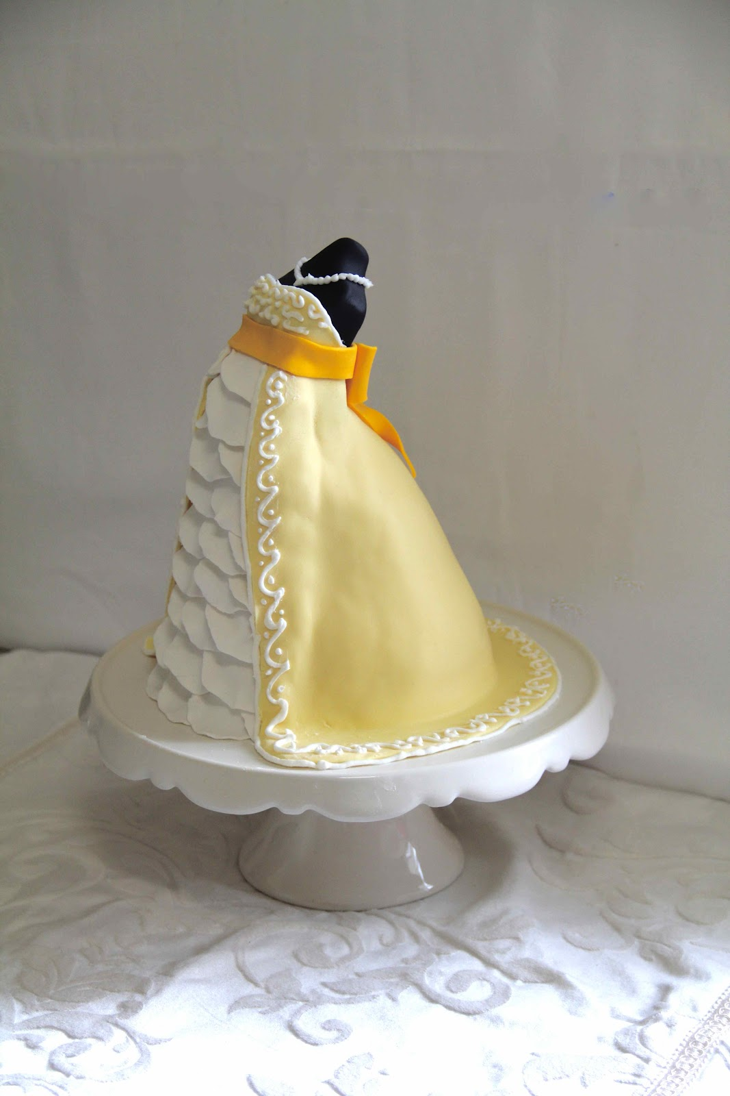 Bakerz Dad Pregnant Dress Cake