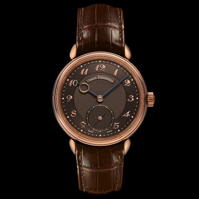 Urban Jürgensen 1140 RG Brown Limited Edition presented at Baselworld 2018