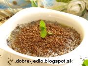 Bulgurová kaša s makom a posýpkou - recept