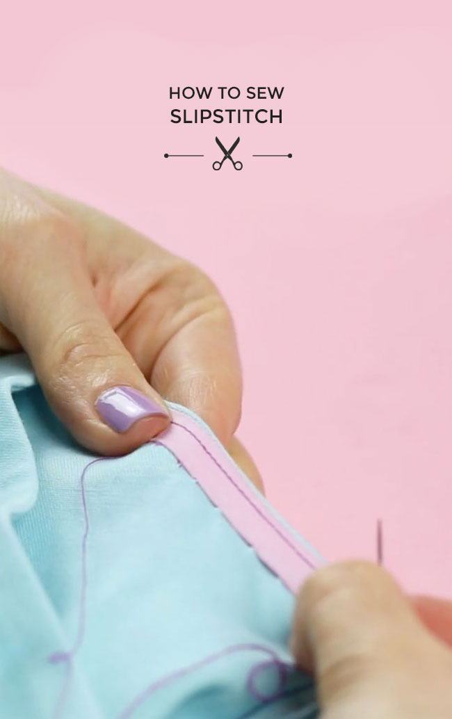 tilly and the buttons how to sew slipstitch. Black Bedroom Furniture Sets. Home Design Ideas