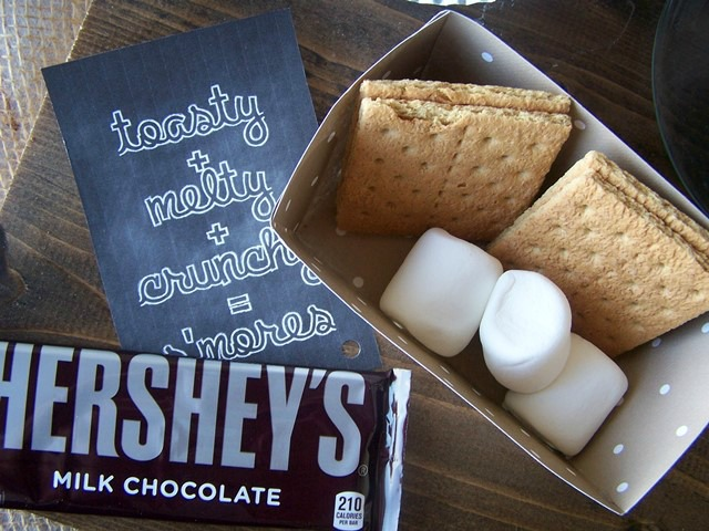 Easily transport your s'mores upplies with these containers