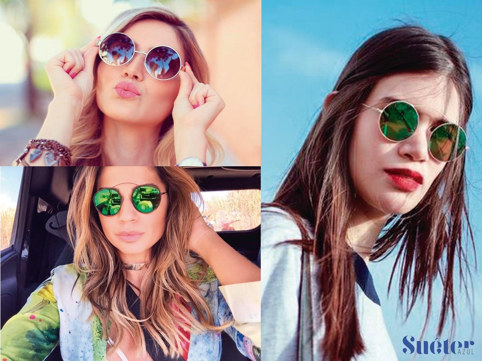 8024dff853352 Os óculos de armações redondas fazem sucesso não é de hoje. Eles são muito  estilosos