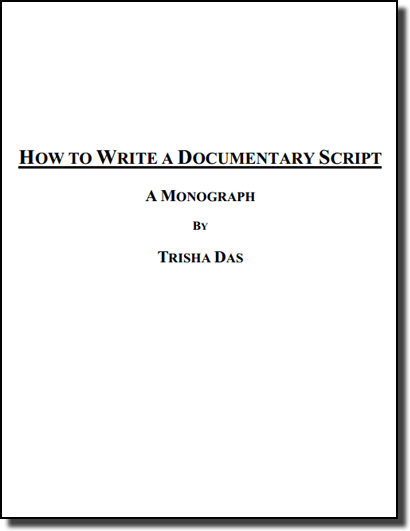 EBook 3 How To Write A Documentary Script