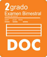 Examen Bloque I Segundo grado Ciclo Escolar 2015-2016