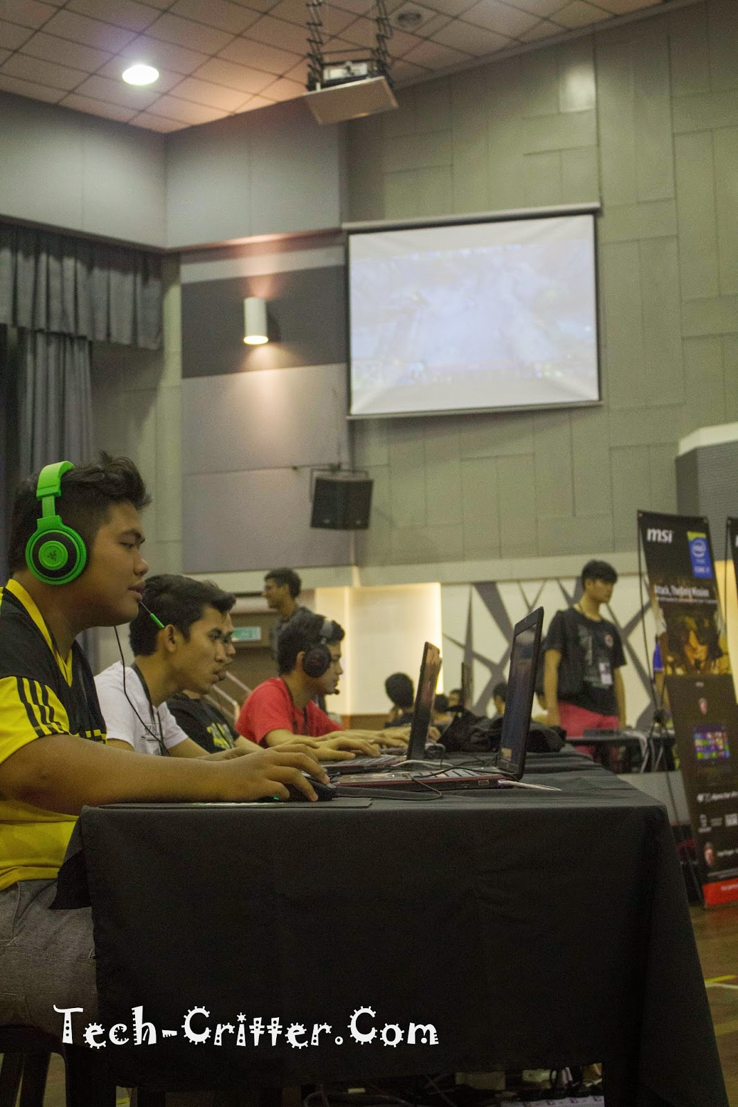 Coverage of PLAY! Convention @ KDU College 216