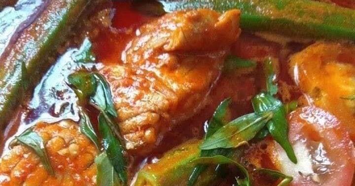 asam pedas pari daun kesum Resepi Ikan Pari Air Asam Enak dan Mudah