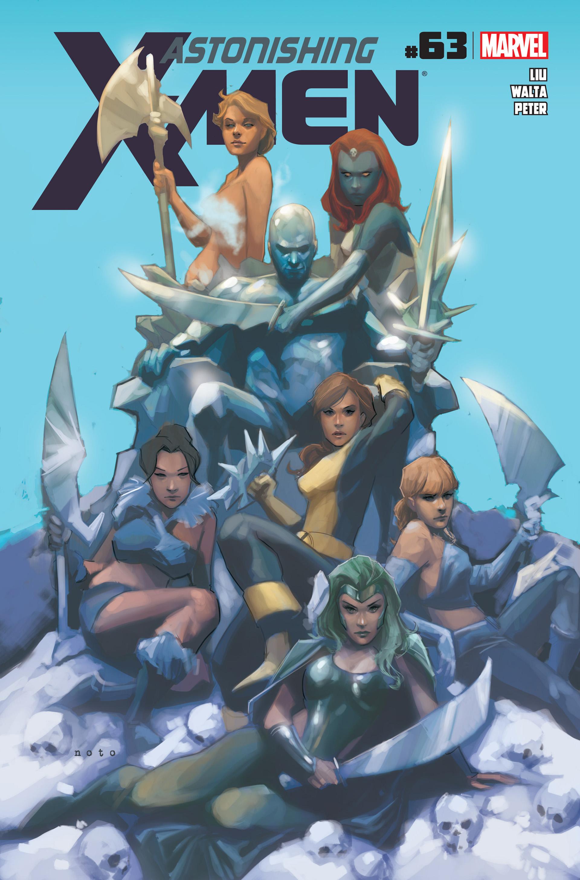 Read online Astonishing X-Men (2004) comic -  Issue #63 - 1