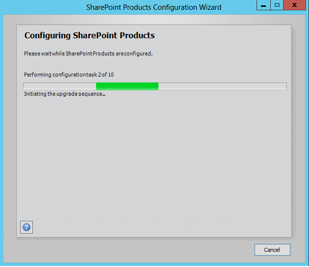 sharepoint 2013 upgrade patch