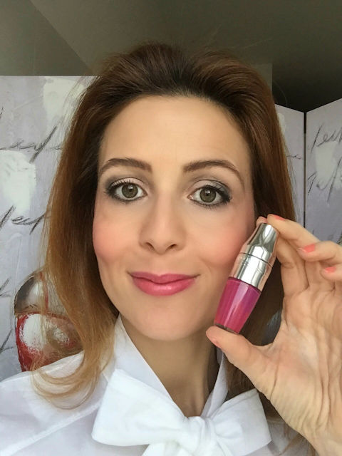 Lancome Juicy Shakers berry in love review on Fashion and Cookies beauty blog, beauty blogger