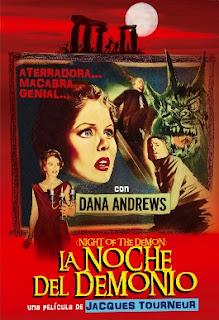 carátula DVD de la noche el demonio
