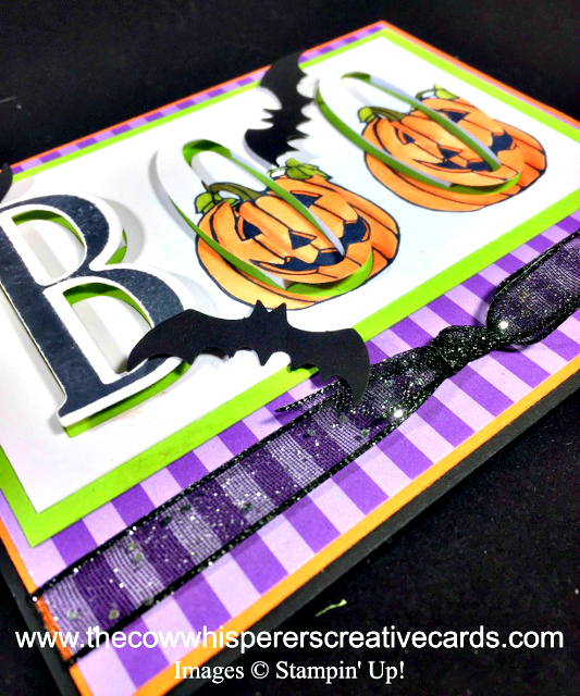Card, Seasonal Chums, Boo, Bat Punch, Halloween, Eclipse Card