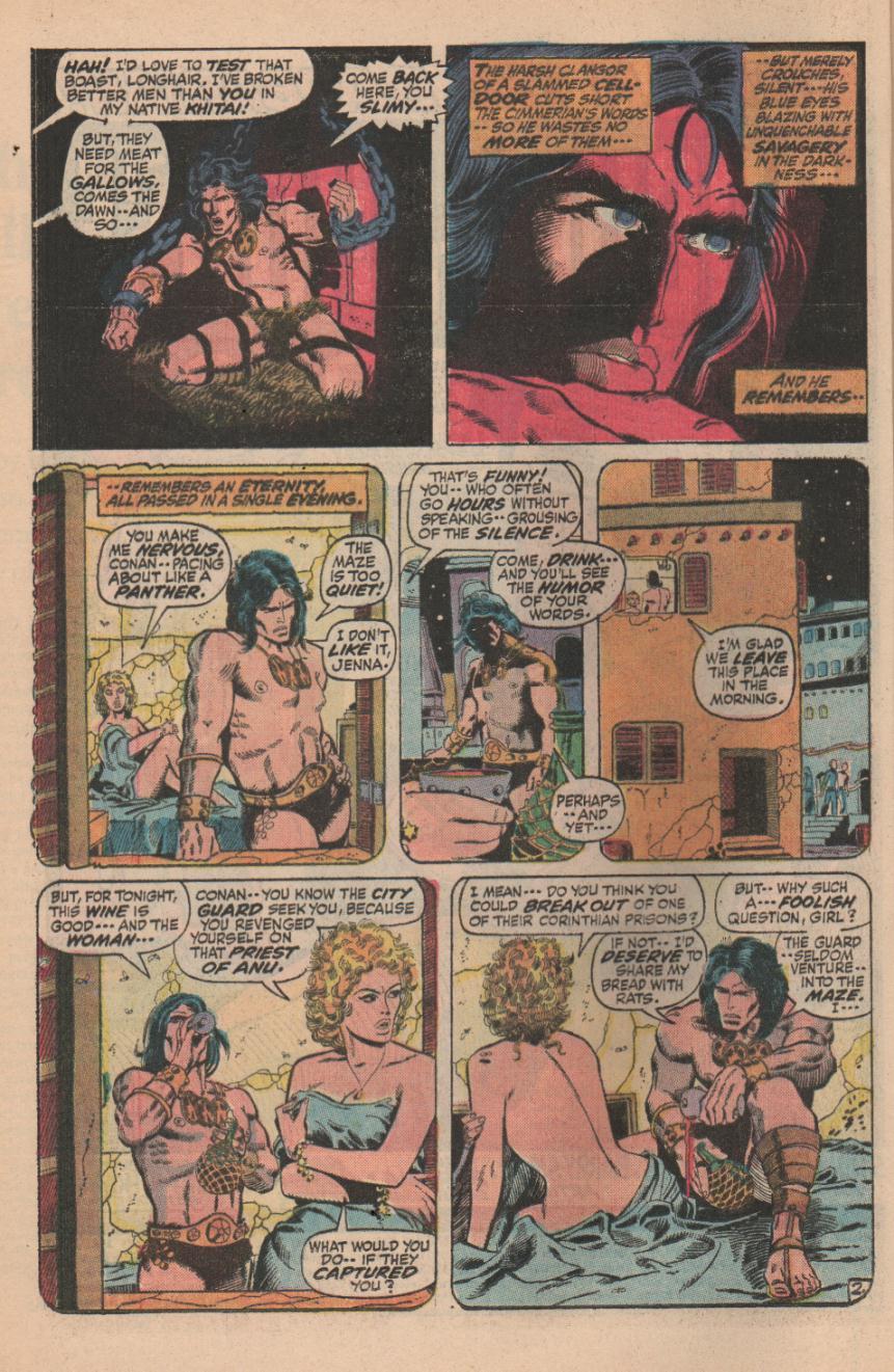 Conan the Barbarian (1970) Issue #11 #23 - English 4