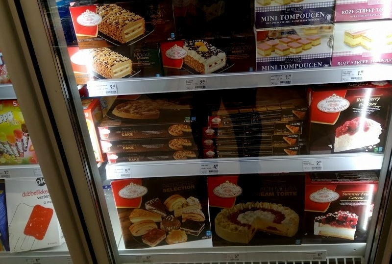 Conditorei Coppenrath & Wiese cakes at Coop supermarket Rotterdam