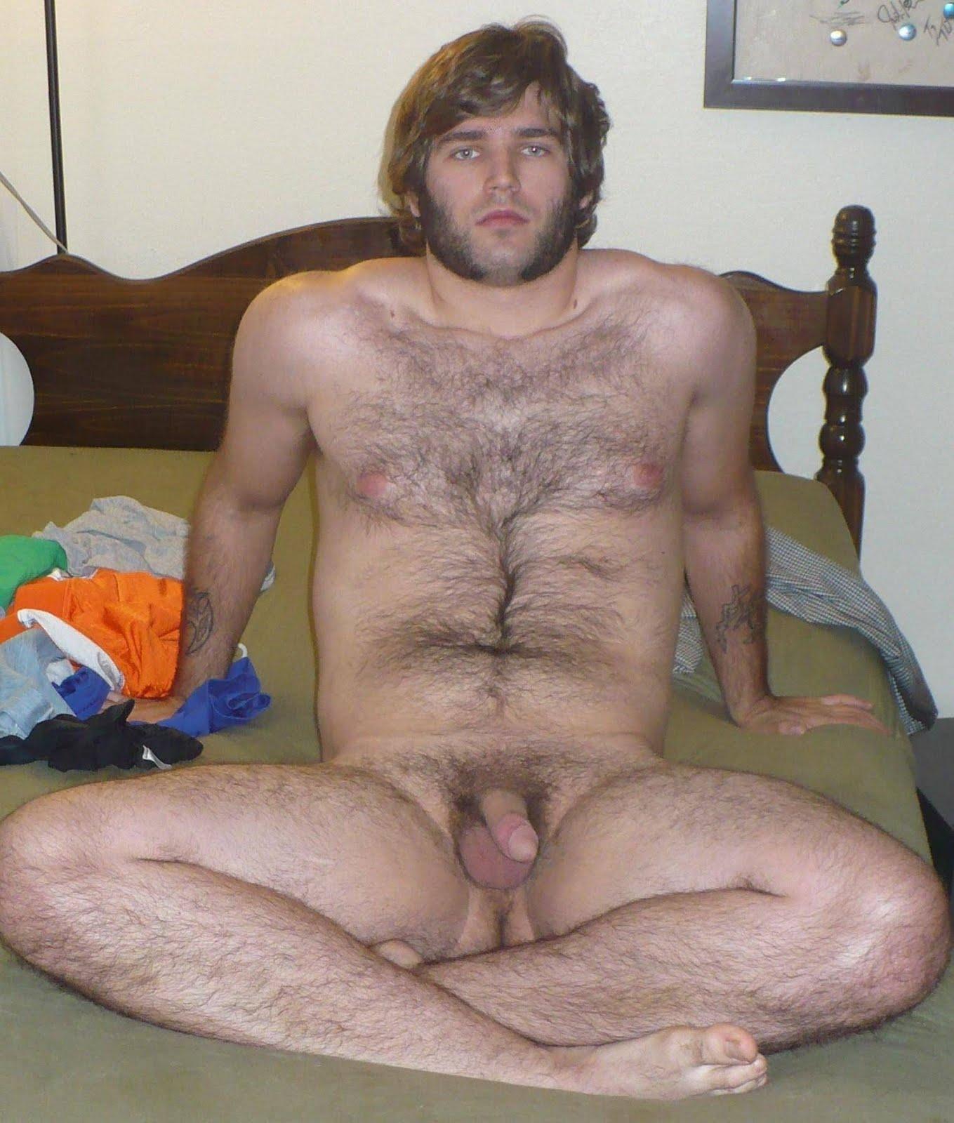 Naked furry guys