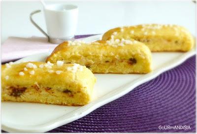 image Brioche suisse : crème pâtissière et pépites choco