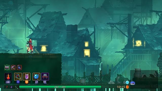 Dead Cells - gorgeous backgrounds