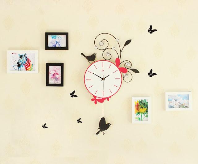 Đồng hồ trang trí treo tường Deco DHNL317