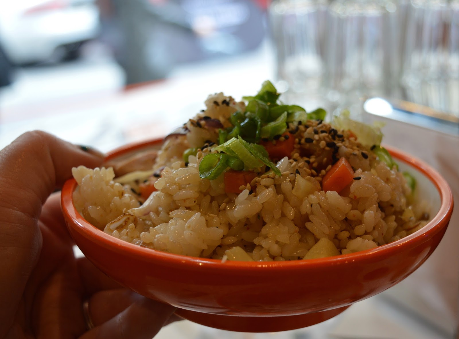 YO! Sushi Newcastle Grainger Street - Kids Menu Review - chicken rice bowl