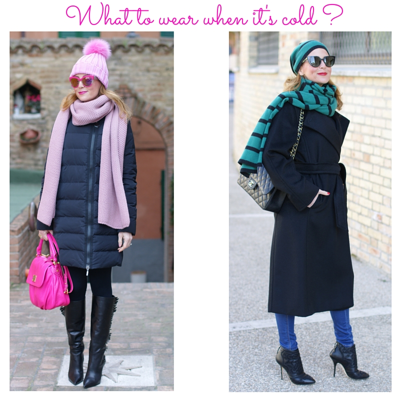 What to wear when it's cold, tips to look elegant and stylish when it's winter cold on Fashion and Cookies fashion blog, fashion blogger style