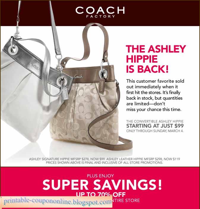 Coach outlet coupon printable 2018